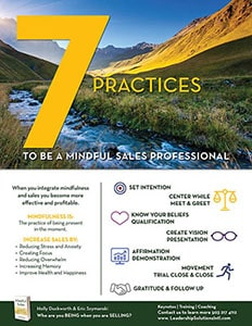 7 Practices to be a Mindful Sales Professional